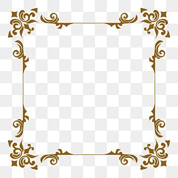 زخرفة إطار العنوان رهيبة فخم ترف اسلامية الإطارات Png وملف Psd للتحميل مجانا Ornament Frame Gold Photo Frames Photo Frame Design