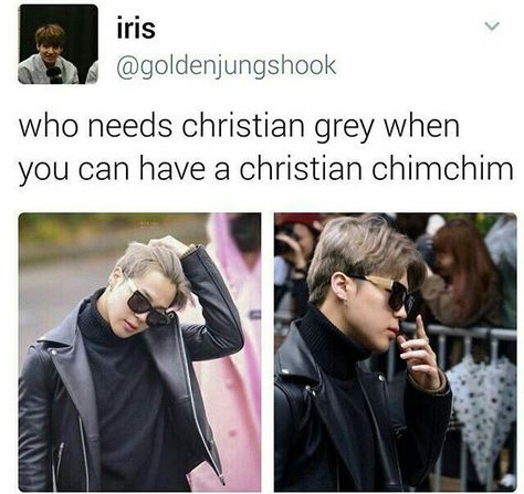Pahaha but jimin in 50 shades would be hilarious oml I bet theres an au out ther. - Pahaha but jimin in 50 shades would be hilarious oml I bet theres an au out there tho lol - Namjoon, Jhope, Kookie Bts, Bts Bangtan Boy, Jimin Selca, Jungkook Hot, K Pop, Christian Grey, Rap Monster
