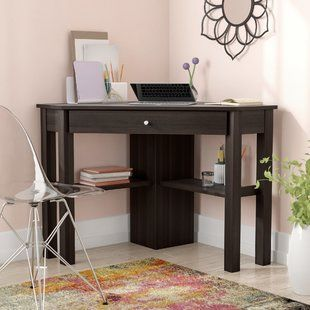 Corner Desks You Ll Love Wayfair Corner Desk Corner Writing Desk Desk