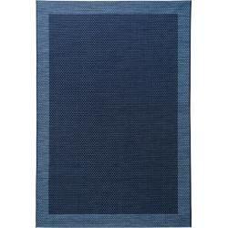 Benuta Indoor Outdoor Rug Vora Blue 120x170 Cm For Balcony