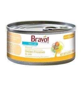 Bravo Bravo Canned Cat Chicken Fricassee 5 5 Oz Single Canned Food Canned Cat Food Food Animals