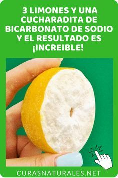 Limon Con Bicarbonato Adelgaza Si Usted Sigue Esta Receta Si