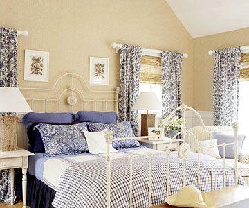 Beachy Cool Bedroom