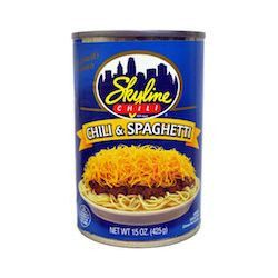 Skyline - Chili With Spaghetti