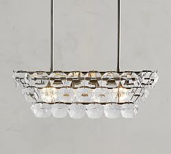 Bowen Round Crystal Chandelier In 2020 Crystal Chandelier Round Crystal Chandelier Chandelier