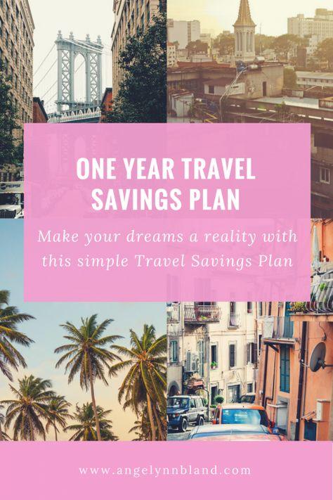 1 YEAR TRAVEL SAVINGS PLAN