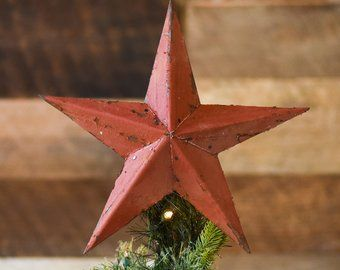 White Wooden Christmas Star Tree Topper Decoration 12 Inch Star Tree Topper Made From Reclaimed Wood Christmas Tree Toppers Wood Christmas Tree Angel Decor