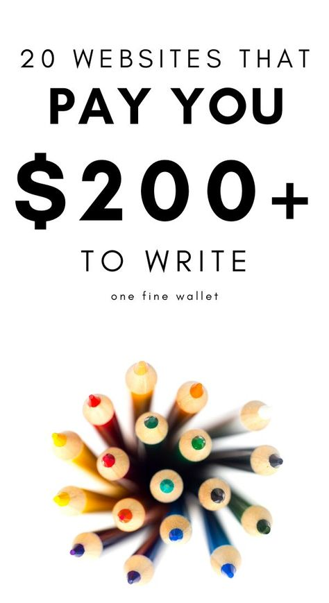 20 Websites to Write and get Paid Instantly (upto $200 each)