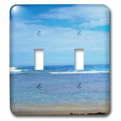 3drose Kauai Coastline Hanalei Bay 2 Gang Toggle Light Switch Wall Plate Wayfair Ca Plates On Wall Light Switch Hanalei Bay