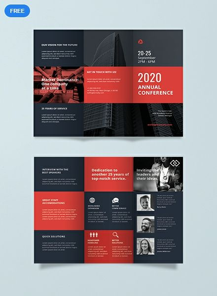 Free Conference Business Brochure Template Word Doc Psd Indesign Apple Mac Pages Illustrator Publisher Brochure Design Creative Brochure Design Layout Brochure Design