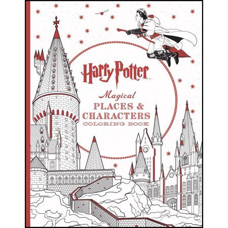 Harry Potter Magical Places Characters Coloring Book Walmart Com Harry Potter Coloring Book Harry Potter Colors Harry Potter Gifts