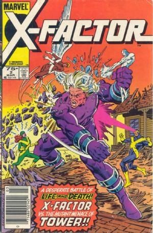 Comic Cover For X Factor 2 Comic Price Guide Marvel Comics Covers Comics