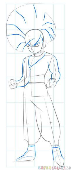 How To Draw Gohan Step By Step Drawing Tutorials Drawing Tutorial Step By Step Drawing Dragon Ball Artwork