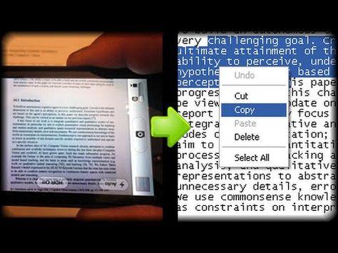 Truco Convierte Una Imagen Escaneada A Texto Word Sin Programas Youtube Textos Informática Paso A Paso