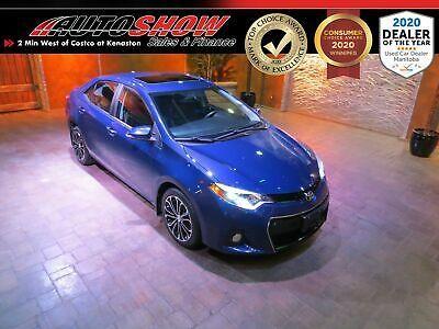 2014 Toyota Corolla Sport Premium Sunroof Htd Lthr Nav In 2020 Toyota Corolla Sport Toyota Corolla Corolla Sport