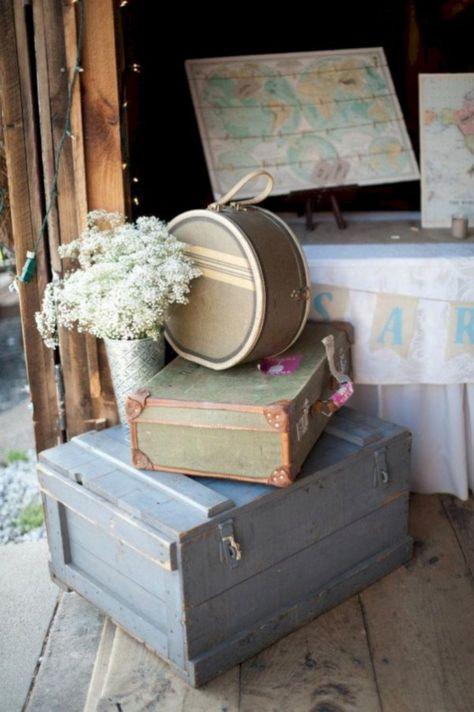 Inspiring travel themed bridal shower ideas 11
