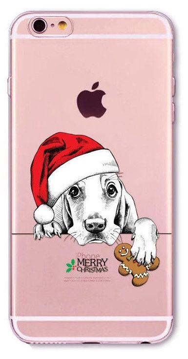 COVER CUSTODIA NATALE MERRY CHRISTMAS in TPU SILICONE per Iphone 6 ...
