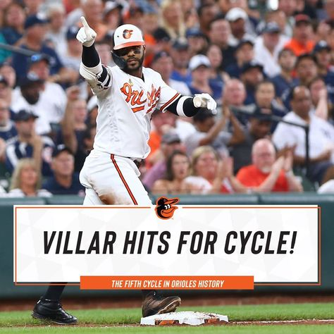 Baltimore Orioles: Jonathan Villar becomes the third Oriole to hit for the cycle at OPACY!…