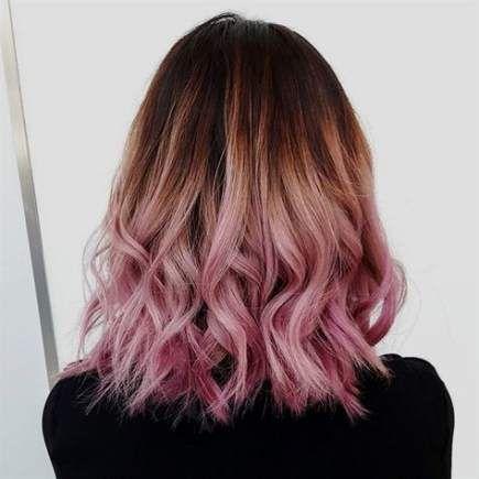 60 Ideas Hair Blonde Pink Highlights Brown Pink Hair Dye Pink Ombre Hair Ombre Hair