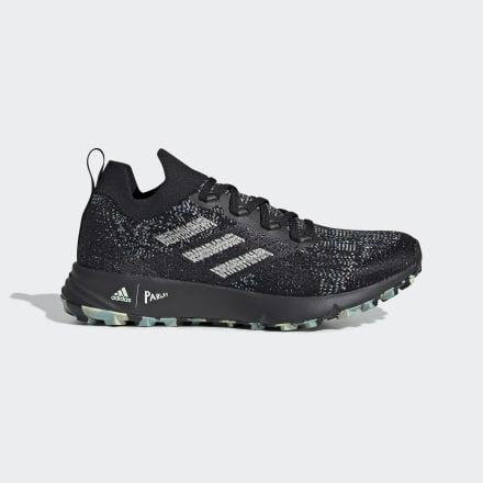 Terrex Two Parley Trail Running Shoes Black Womens in 2020