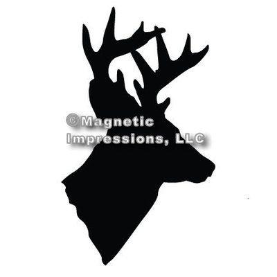 Hunter Car Magnet, Deer Head Deer heads, Cars and Deer - how to find a head hunter