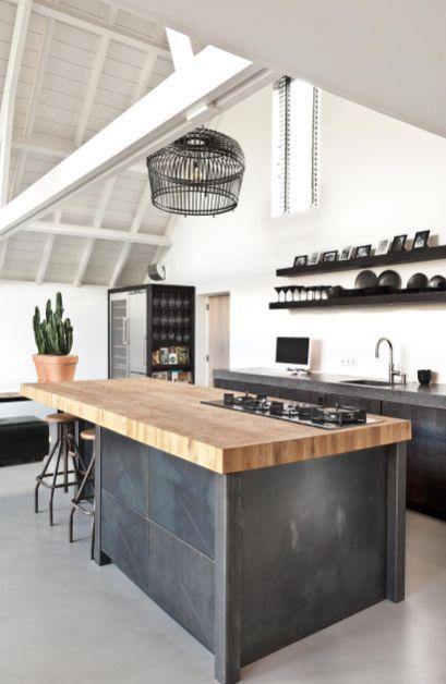 48 The Best Interior Design Of A Wooden Kitchen Con Imagenes