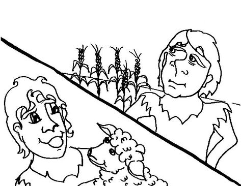 24 Abel Cain Coloring Pages Ideas