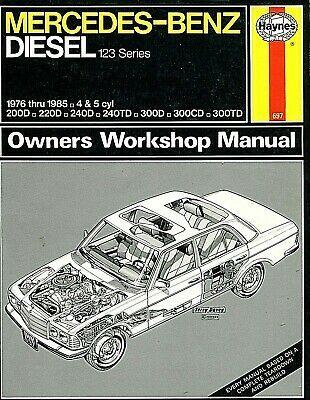 Haynes Mercedes Benz Diesel 123 Series 1976 Thru 1985 Owners Workshop Manual In 2020 Mercedes Benz Diesel Mercedes Mercedes Benz