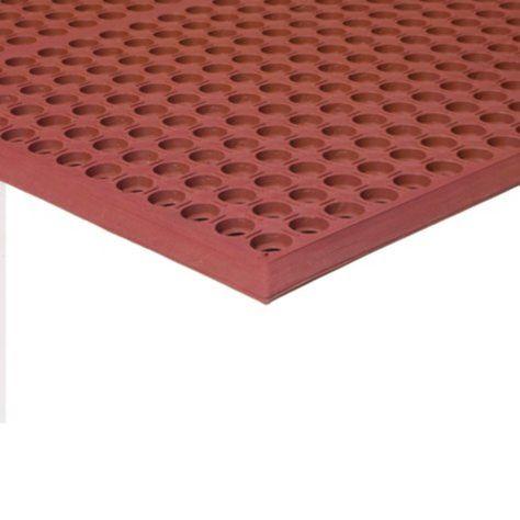 Grease Resistant Workstep Red 36 X 60 X 5 Indoor Mat Entrance Mat Welcome Door Mats