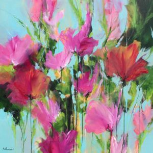 Organik Xxiii Fleurs A L Aquarelle Peintures De Fleurs