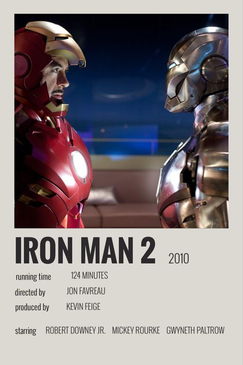 iron man 2 polaroid poster