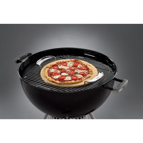 35 Amazon.com : Weber 8836 Gourmet BBQ System Pizza Stone with Carry Rack : Weber Grill Accessories : Patio, Lawn & Garden