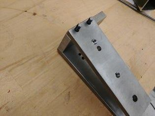 Bolt Together 2 X 72 Belt Grinder 12 Steps With Pictures Welding Projects Metal Welding Belt Grinder