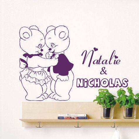 Sticker Da Muro Personalizzati.Pinterest