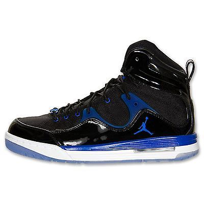buy online adb61 e87ba Jordan New School Mens 768901-008 Black Blue Concord Basketball Shoes Size  11.5   meir shop  )   Pinterest
