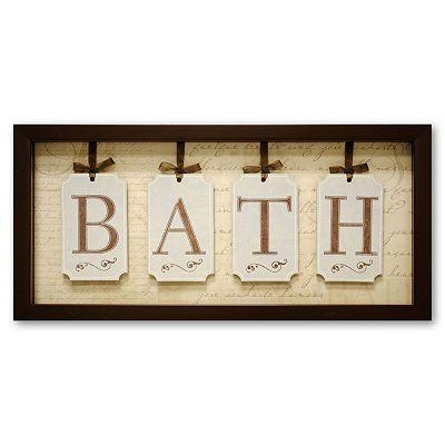 Bath Wall Decor Guest Bathroom