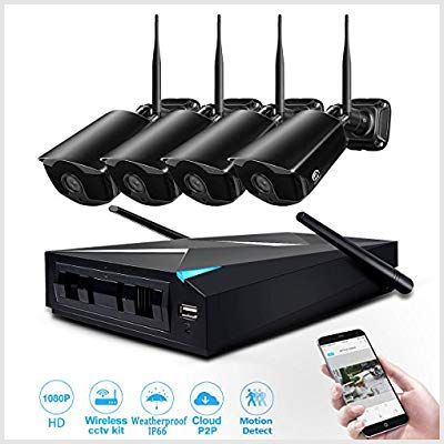 Wireless Security Jooan Channel Recorder Photo Best Photo Cameras Ca Wireless Security Camera System Wireless Home Security Systems Security Cameras For Home