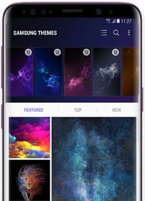 How To Change Wallpaper On Galaxy S9 And Galaxy S9 Plus Bestusefultips Samsung Wallpaper Galaxy Home Screen Settings