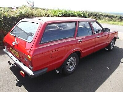 Ebay 1981 Ford Cortina 1 6l Estate Car More Classiccars Cars In 2020 Car Ford Front Windows