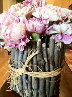 The Purple Martin: Formula Can Becomes a Vase Craft