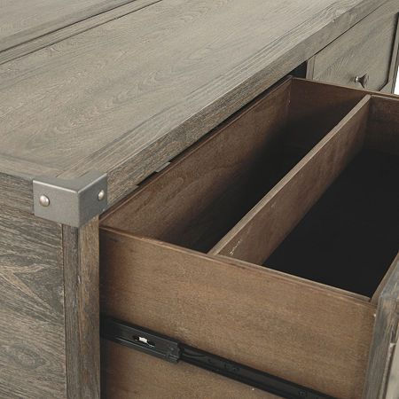 Signature Design By Ashley Chazney 2 Drawer Lift Top Coffee Table