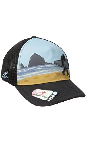 968b0d3e Headsweats Trucker Hat-Soft Tech 5 Panel Sublimated Bigfoot Surf ...