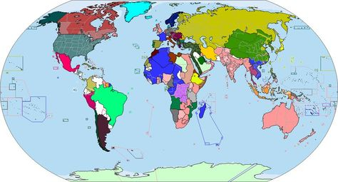 World map for 1900 | all sort of things | Map, History и Alternate ...