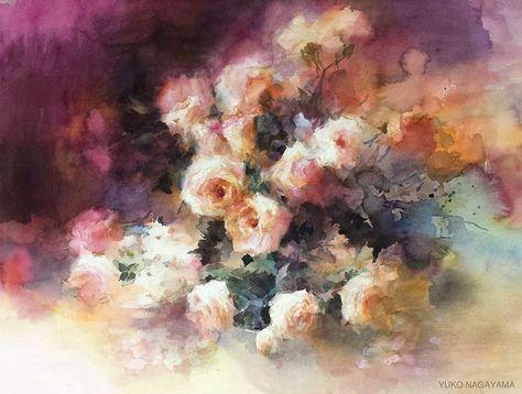 adelaparvu.com despre picturi acuarela, artist Yuko Nagayama (19)