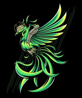 30+ Green phoenix info