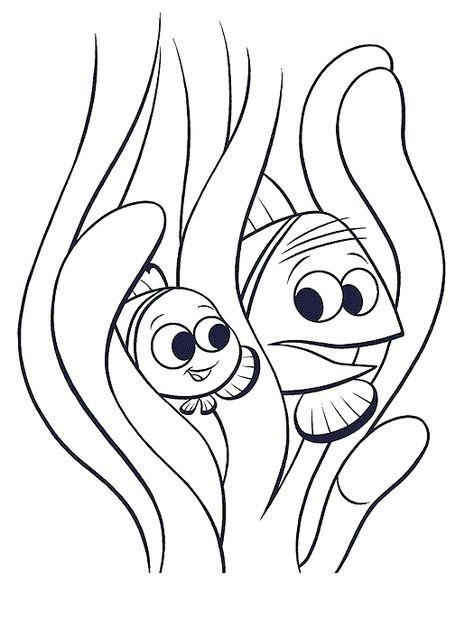 30 Desenhos Procurando Nemo Para Colorir E Imprimir Paginas Para