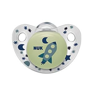 NUK Night and Day Silicone Soothers//Dummies 6-18 Months