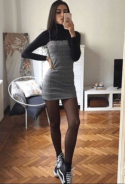 Teenage Fashion 2019 - 18 Fabulous Outfits for Teenage Girls - dresses -You can find Outfit ideas and more on our website.Teenage Fashion 2019 - 18 Fabulous Out. Grunge Style Outfits, Teen Fashion Outfits, Cute Casual Outfits, Outfits For Teens, Stylish Outfits, Fall Outfits, Work Outfits, Party Outfit For Teen Girls, Ladies Outfits