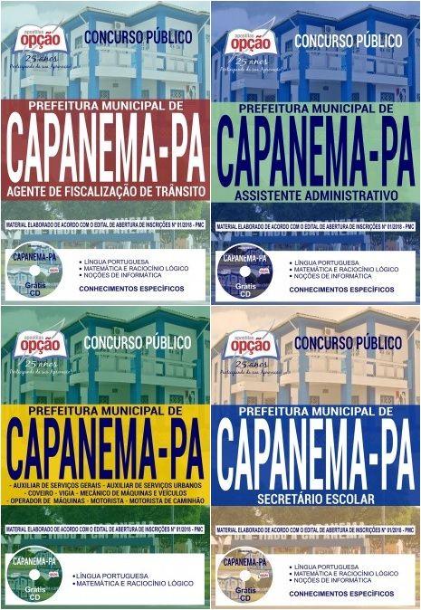 Apostilas Preparatorias Concurso Prefeitura Municipal De Capanema