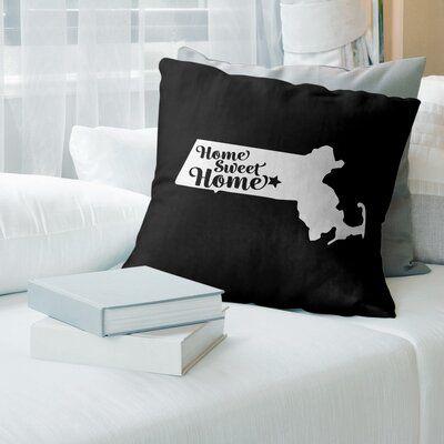 East Urban Home Home Sweet Throw Pillow